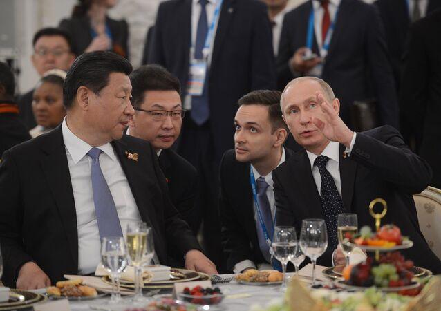 Vladimir Putin-Şi Cinping