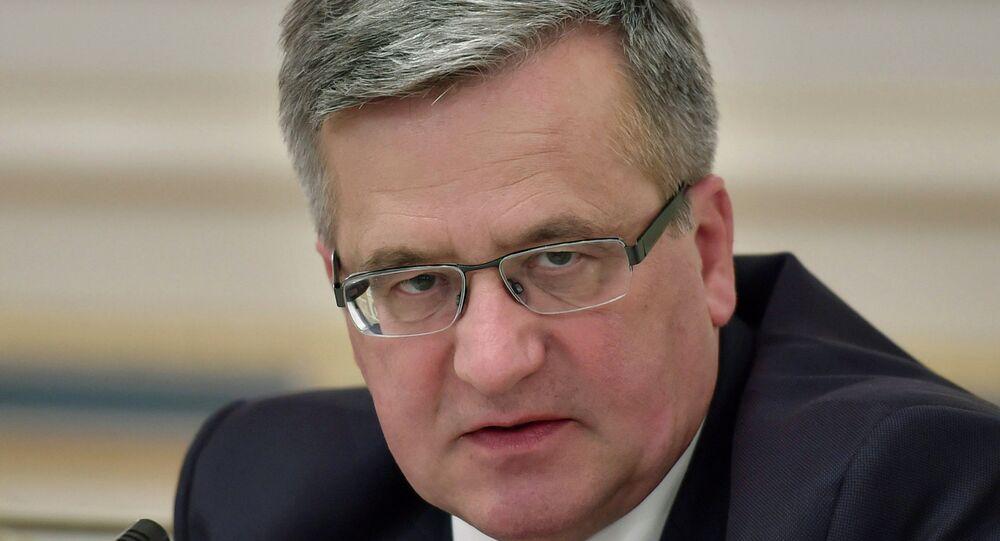 Polonya Cumhurbaşkanı Bronislaw Komorowski