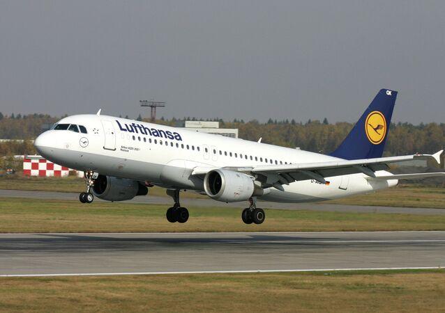 Lufthansa uçağı