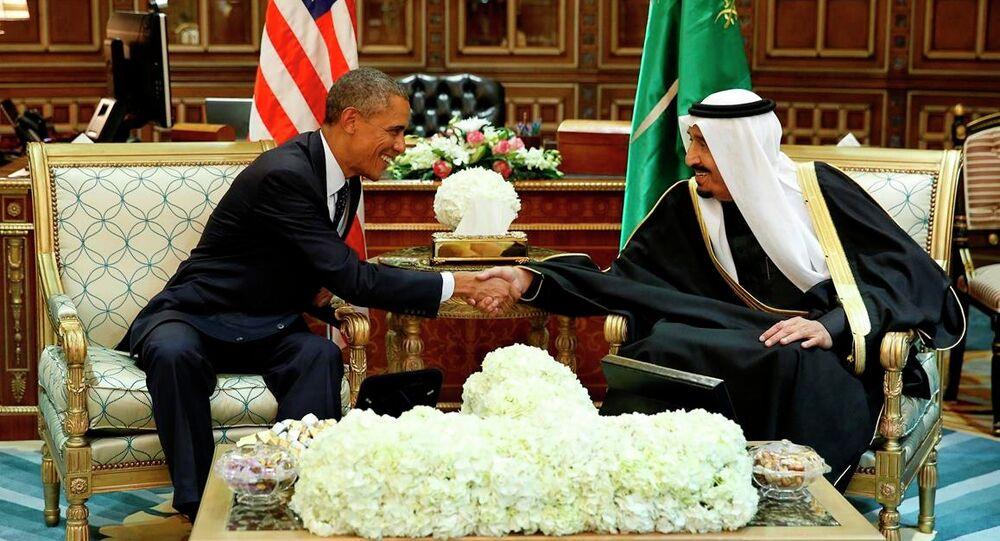 ABD Başkanı Barack Obama- Suudi Arabistan Kralı Selman bin Abdülaziz El Suud