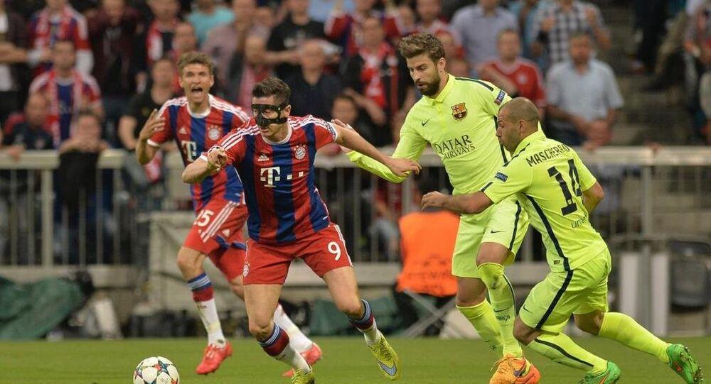 Bayern Münih ile Barcelona