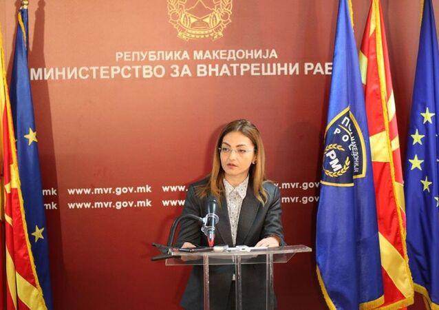 Makedonya İçişleri Bakanı Gordana Yankulovska