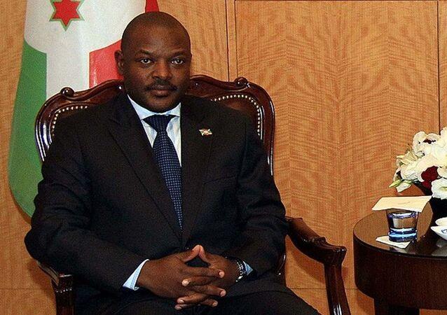 Burundi Devlet Başkanı Pierre Nkurunziza