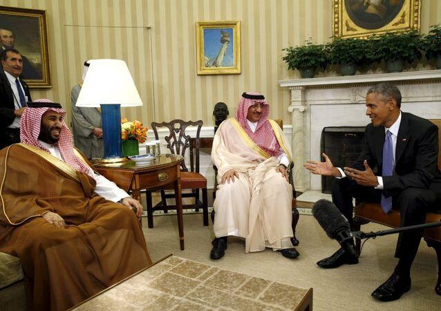 ABD Başkanı Barack Obama- Suudi Arabistan Veliaht Prensi Muhammed bin Nayif bin Abdulaziz el  Suud