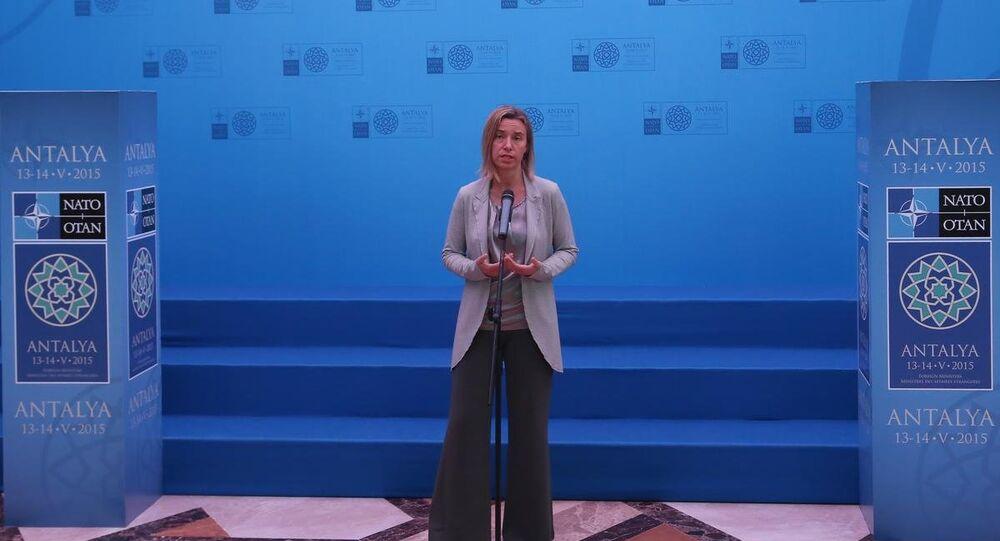 AB Dışişleri ve Güvenlik Yüksek Temsilcisi Federica Mogherini