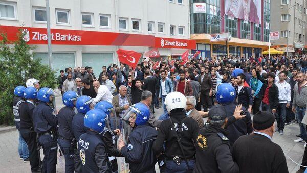 HDP'nin Kırşehir mitinginde gerginlik - Sputnik Türkiye