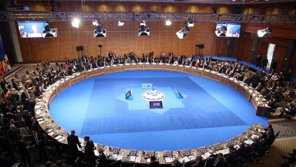NATO Dışişleri Bakanları Toplantısı - Sputnik Türkiye