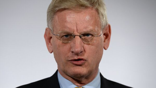 İsveç Dışişleri eski Bakanı Carl Bildt - Sputnik Türkiye