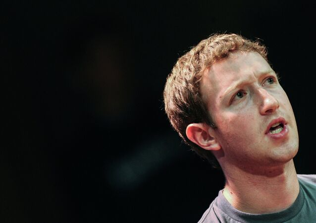 Mark Zuckerberg, Moskova'da