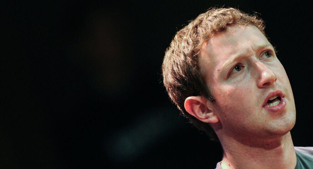 Mark Zuckerberg, Moskova'da