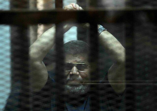 Eski Mısır Cumhurbaşkanı Muhammed Mursi