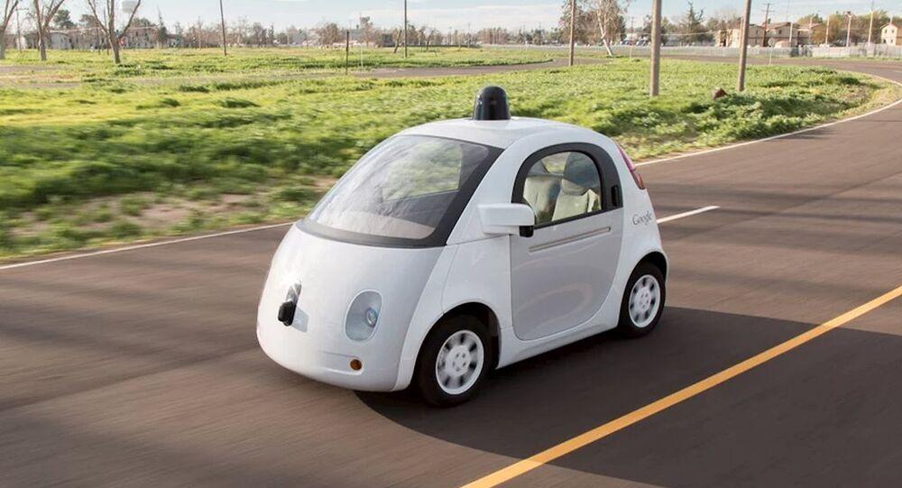 Google'ın sürücüsüz araçları