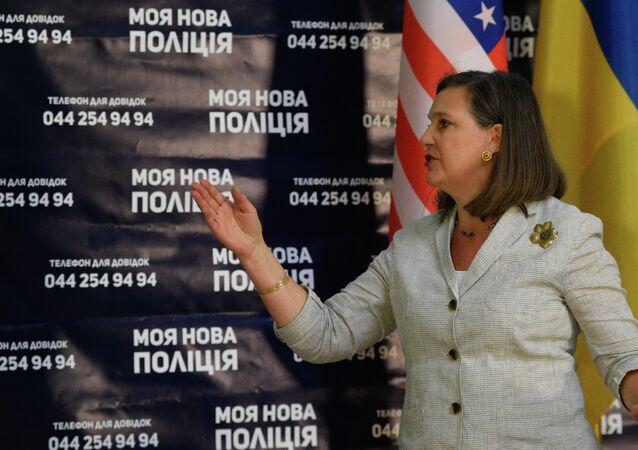 ABD'nin Avrupa ve Avrasya İlişkilerinden Sorumlu Dışişleri Bakan Yardımcısı Victoria Nuland