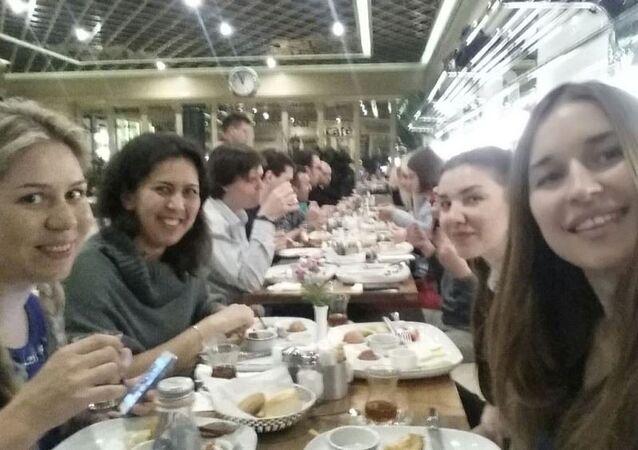 Türk kahvaltısı Moskova'da