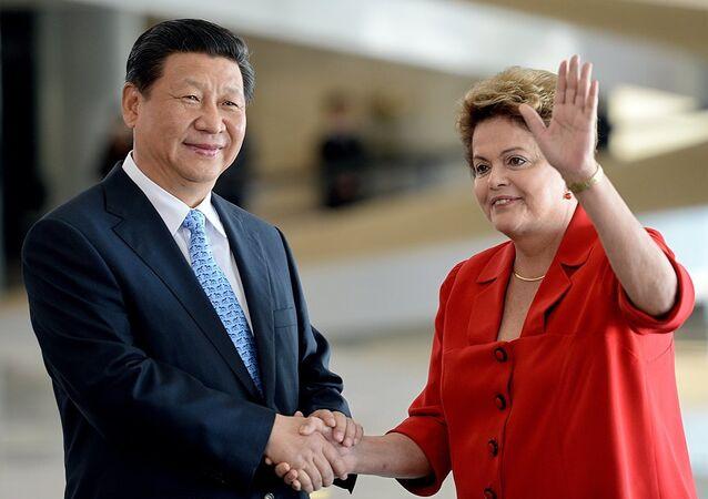 Şi Cinping & Dilma Rousseff