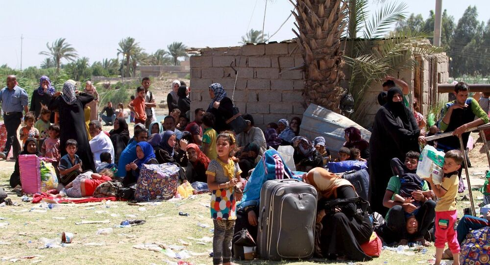 Ramadi'de 25 bin kişi kaçtı