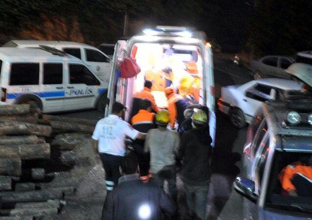 Zonguldak'ta özel maden ocağında göçük
