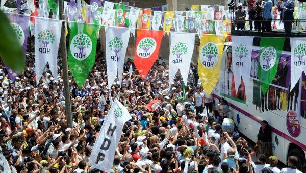 HDP miting - Sputnik Türkiye