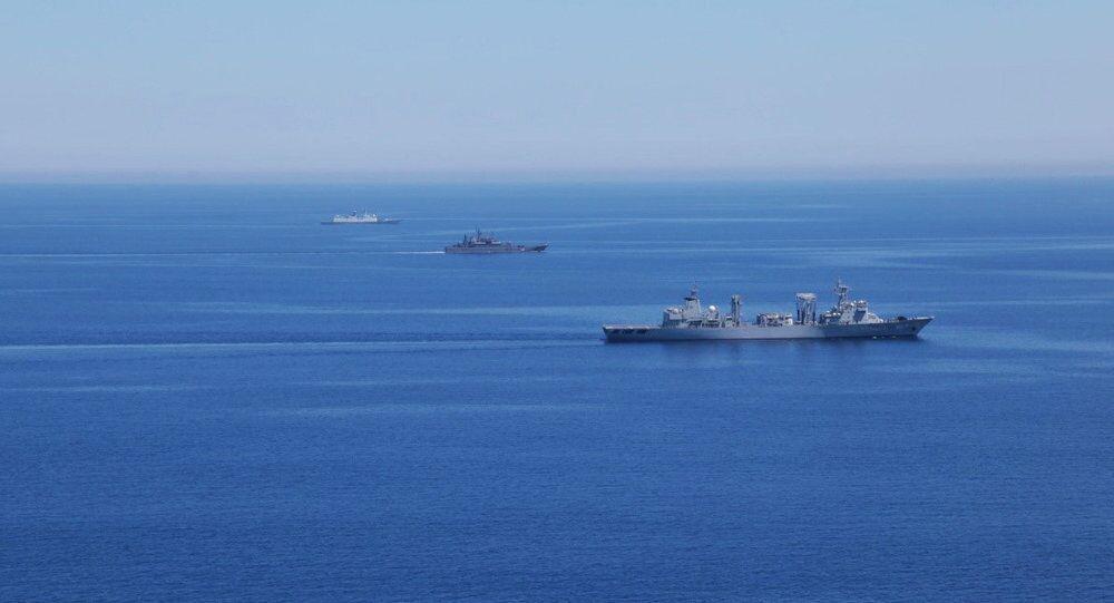 Rusya ve Çin'in Akdeniz tatbikatı