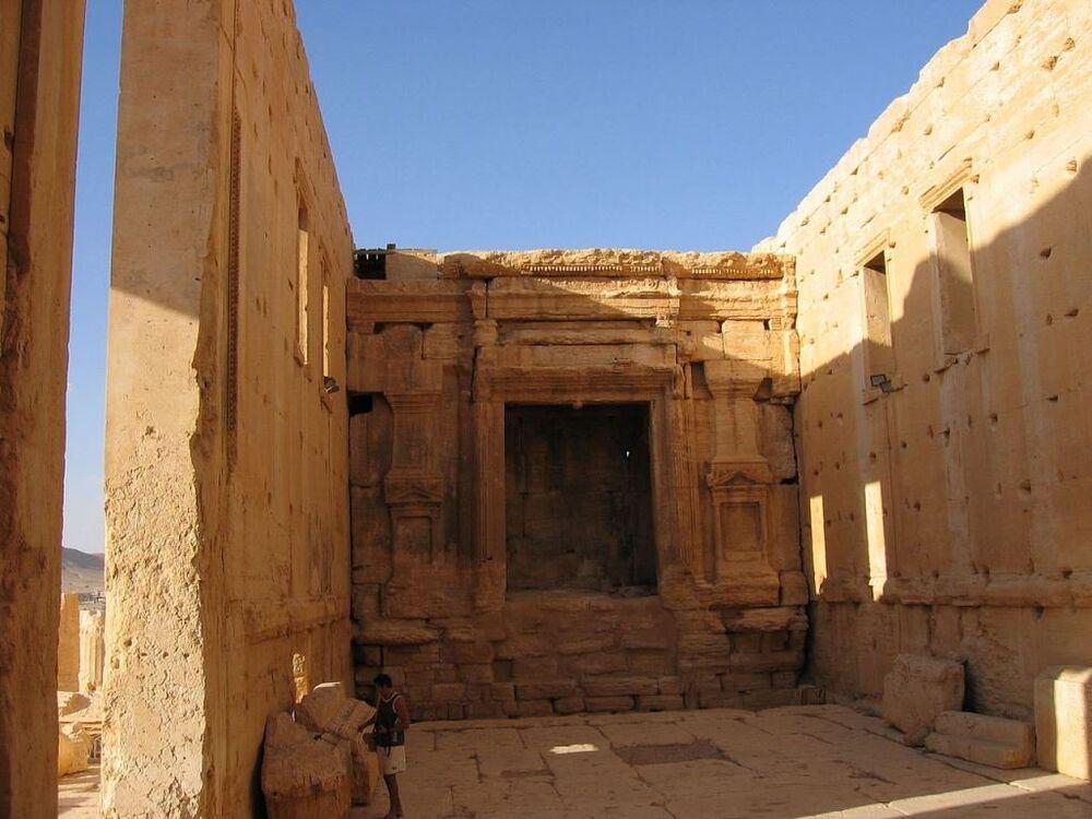 Bel (Baal) Tapınağı'ndan günümüze kalanlar.