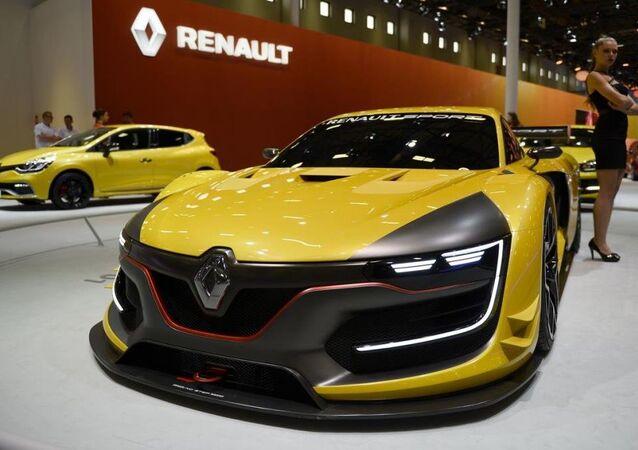 Fuarda Renault Sport R.S. 01 modelini tanıttı.