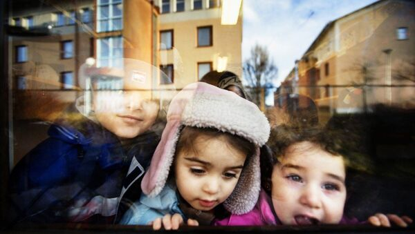 Mülteci çocuklar - Sputnik Türkiye