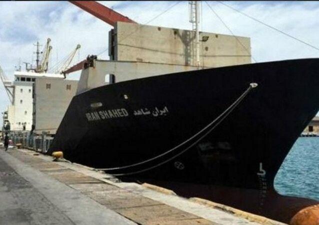 İran'ın Yemen'e yolladığı 'İran Şahid' adlı insani yardım gemisi
