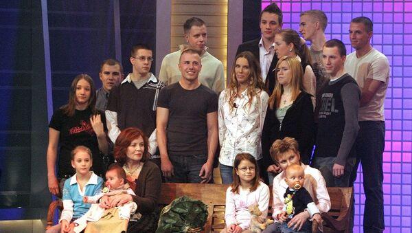 Almanya'da 13 çocuğu olan Annegret Raunigk - Sputnik Türkiye