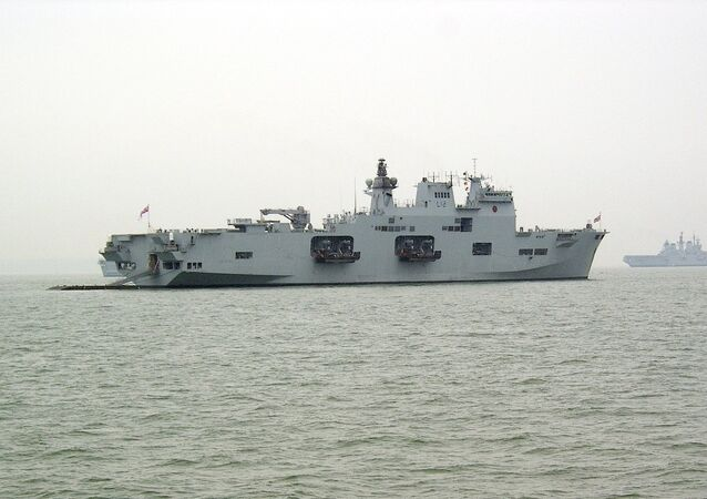 İngiliz HMS Ocean gemisi