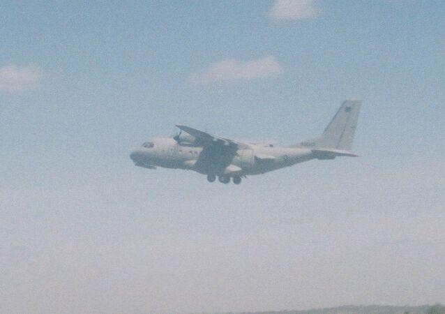 CN-235 nakliye uçağı