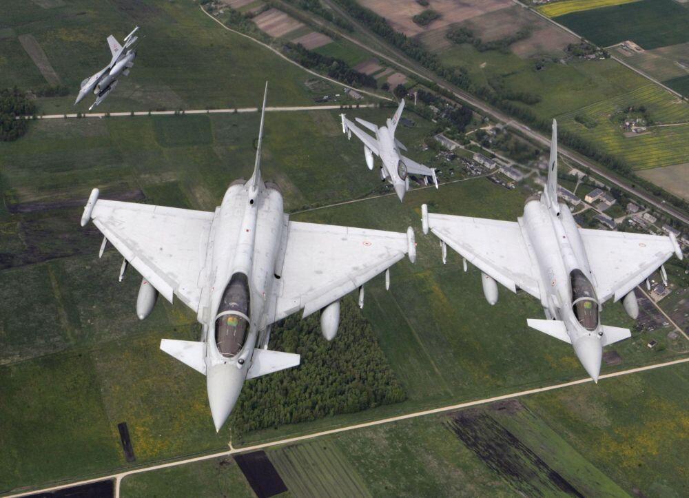 NATO uçakları-Haftanın fotoğrafları