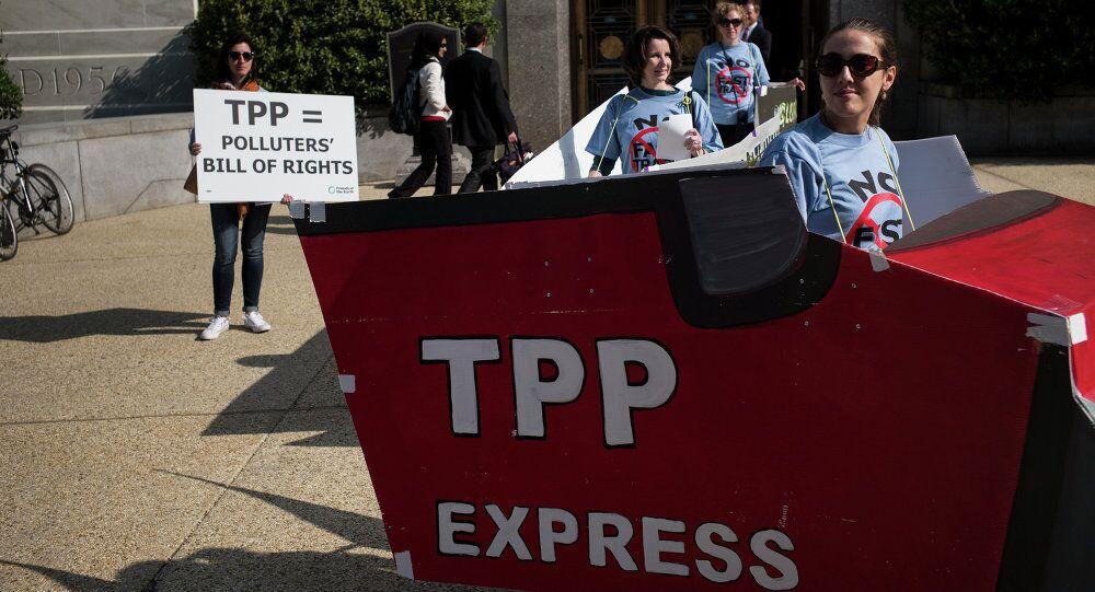 Trans-Pasifik Ortaklığı (TPP) karşıtı protestolar