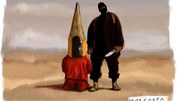 İran IŞİD'le karikatürlerle 'savaşacak' - Sputnik Türkiye
