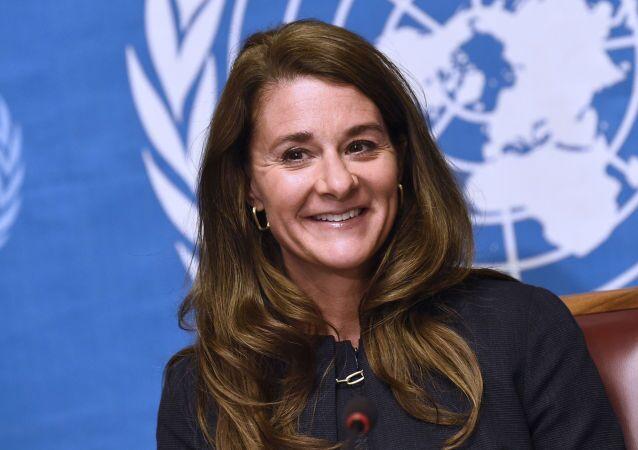 Bill ve Melinda Gates Vakfı Eş Başkanı Melinda Gates