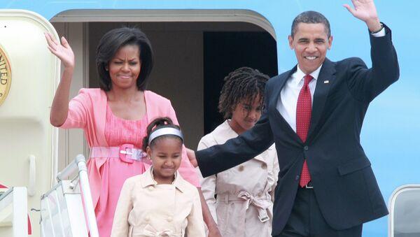 Obama ailesi - Sputnik Türkiye