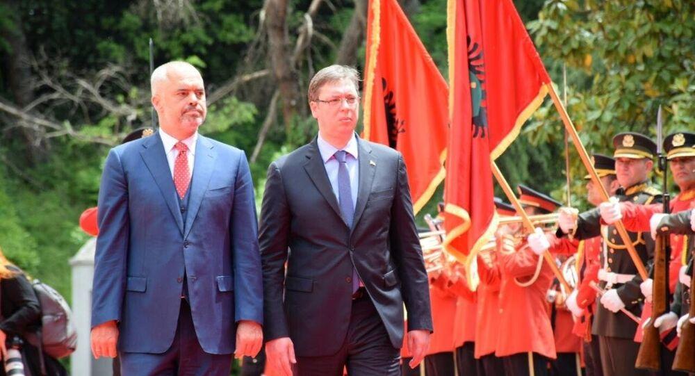 Aleksandar Vuçiç & Edi Rama