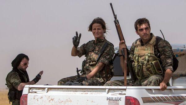 YPG milisleri - Sputnik Türkiye