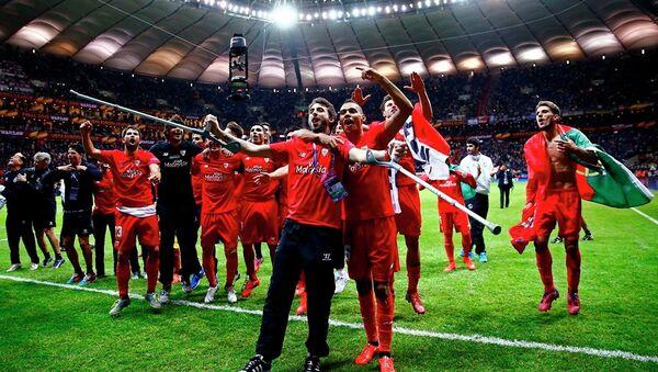 UEFA Avrupa Ligi'nin şampiyonu Sevilla oldu. - Sputnik Türkiye