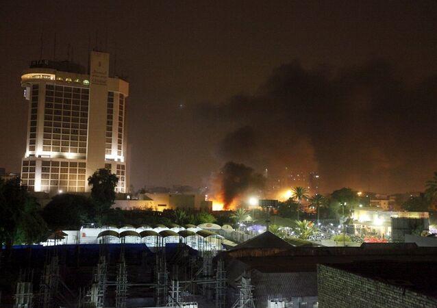 Bağdat'ta iki otele bombalı saldırı