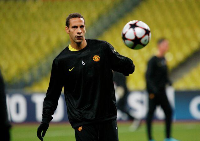 Futbolcu Rio Ferdinand
