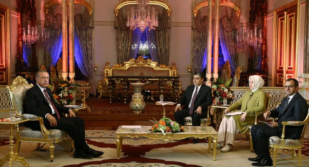 Cumhurbaşkanı Recep Tayyip Erdoğan,