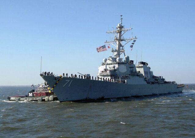 ABD savaş gemisi USS Ross