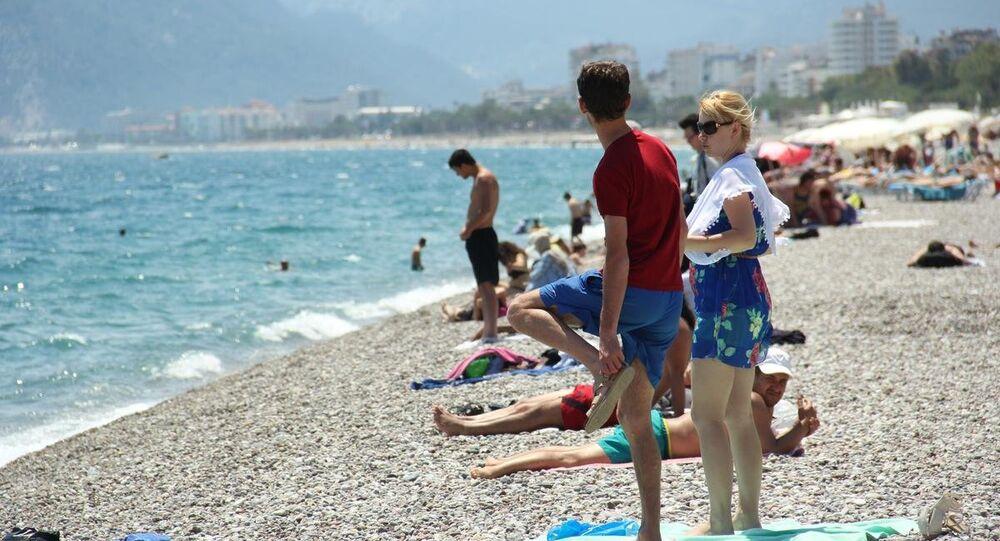 Antalya-Rus turist