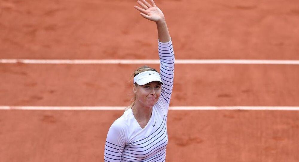 Tenisçi Maria Şarapova