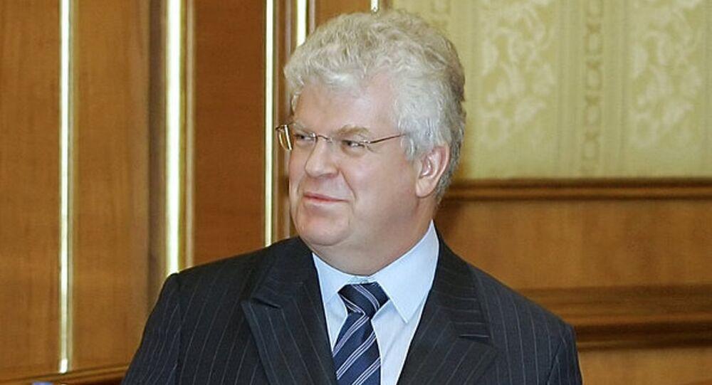 Rusya'nın AB Daimi Temsilcisi Vladimir Çijov