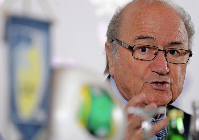 Eski FIFA Başkanı Sepp Blatter