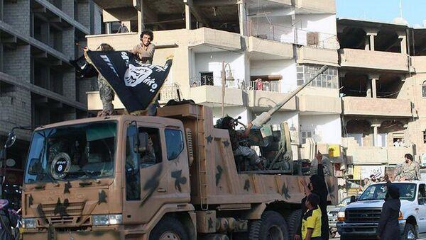 Rakka - IŞİD militanları - Sputnik Türkiye