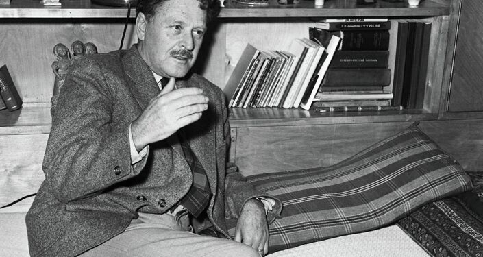 Nazım Hikmet SSCB'de. 1956.