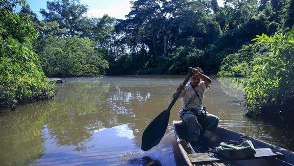 Peru'yu ziyaret edip, turistik etkinlikler ve tarihi ziyaretlerin yerine vahşi doğa ile baş başa kalmak isteyen turistlerin imdadına Amazon ormanları yetişiyor. - Sputnik Türkiye