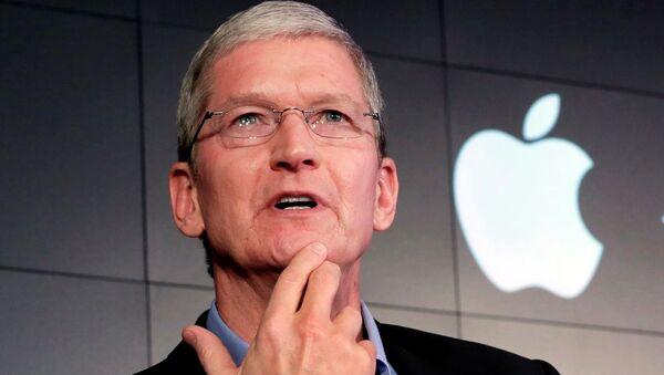 Apple'ın CEO'su Tim Cook - Sputnik Türkiye